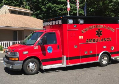 2v35 - 2010 Chevy G4500 Ambulance